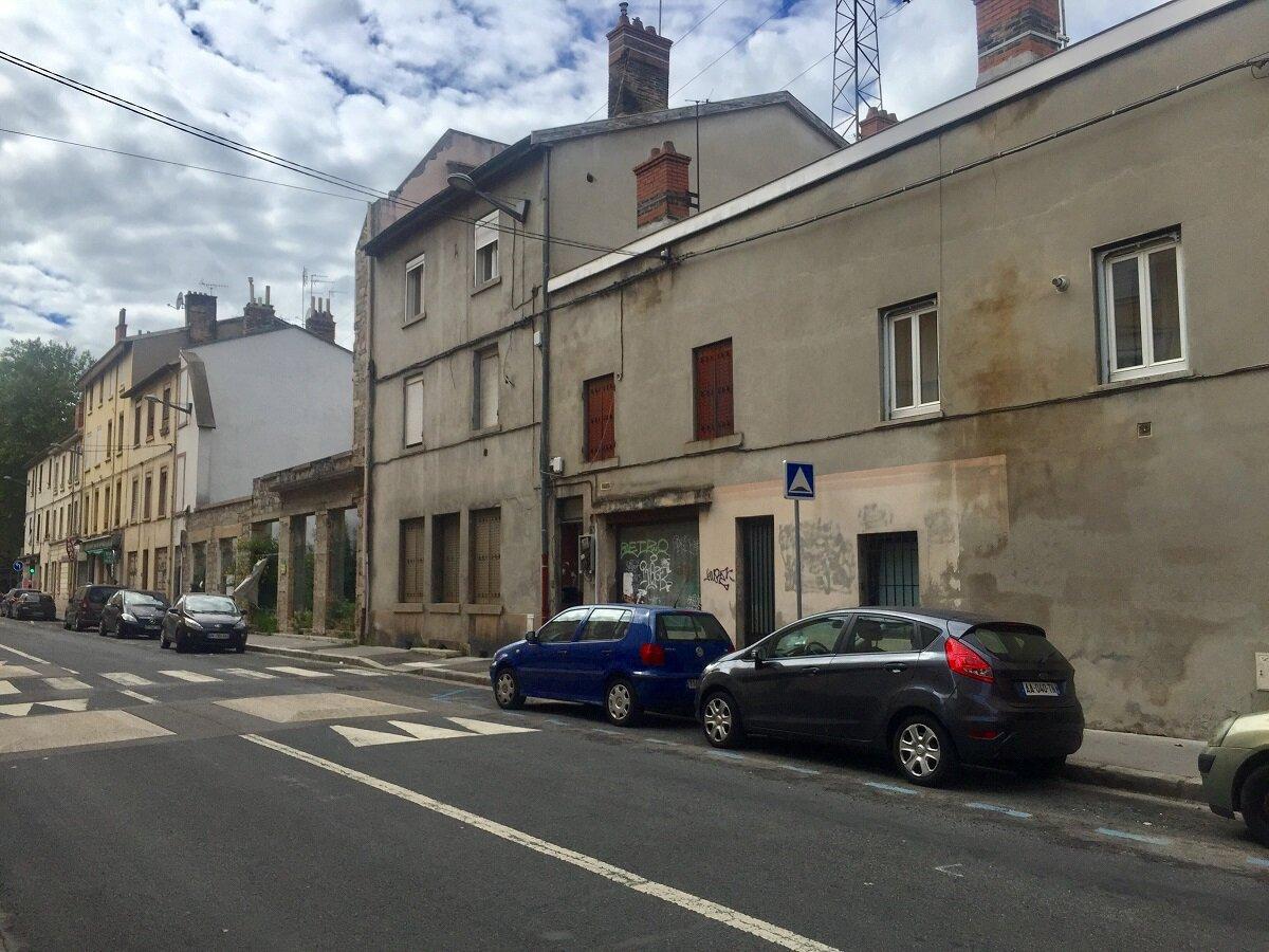 Immeubles quartier Saulaie Oullins