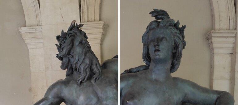 De la place Bellecour au musée : itinéraire des statues des frères Coustou, le Rhône et la Saône