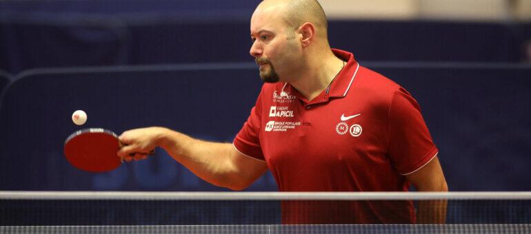 Maxime Thomas, pongiste hors-pair de Lyon aux Jeux paralympiques