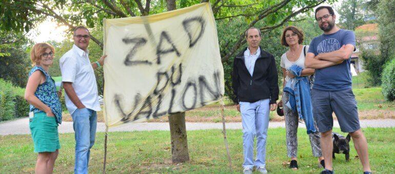 A Sainte-Foy-lès-Lyon: une «Zad» contre le téléphérique