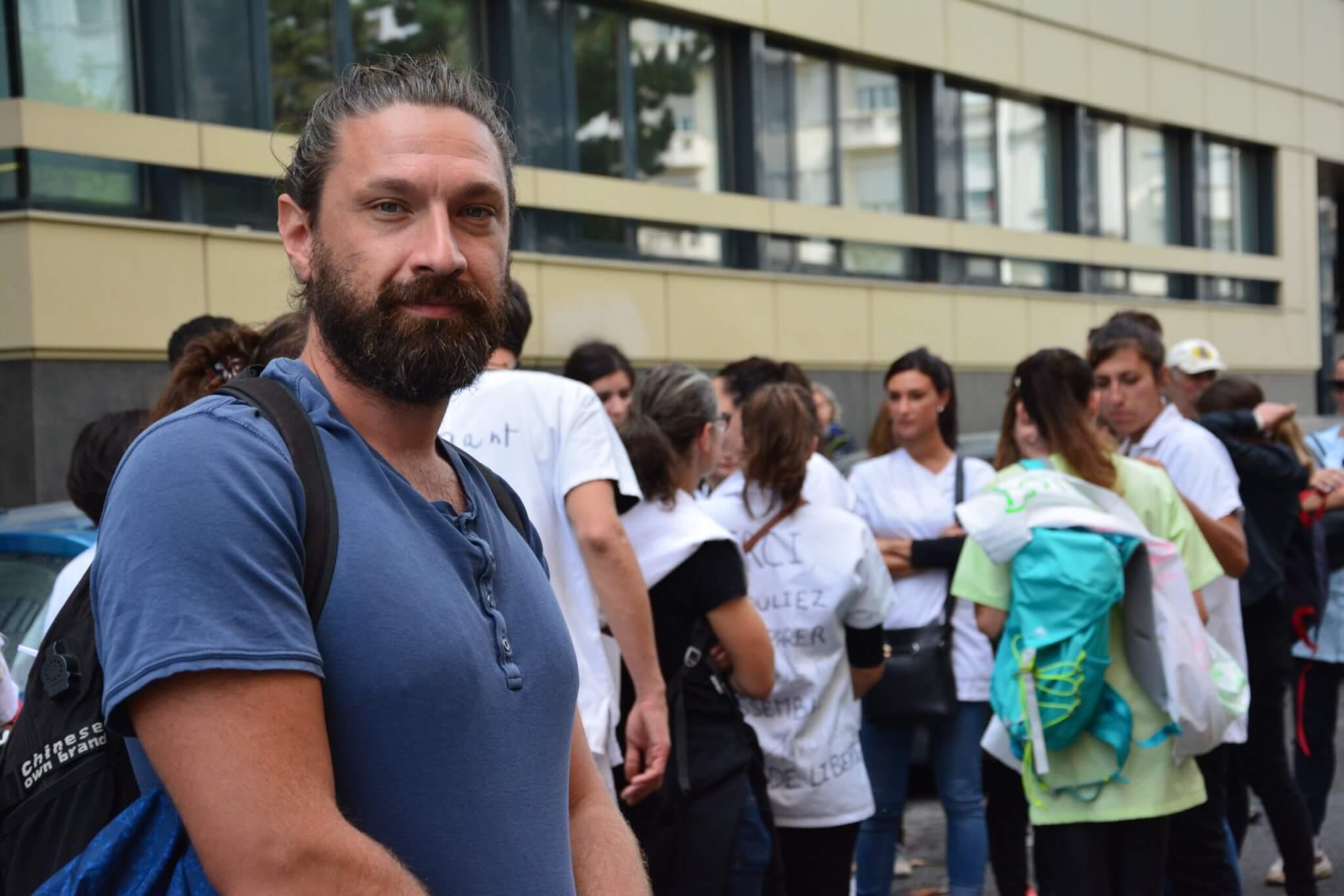 Depuis le 15 septembre, le personnel hospitalier de Lyon et d'ailleurs n'ayant pas commencé les démarches vers la vaccination va être suspendu de son poste.