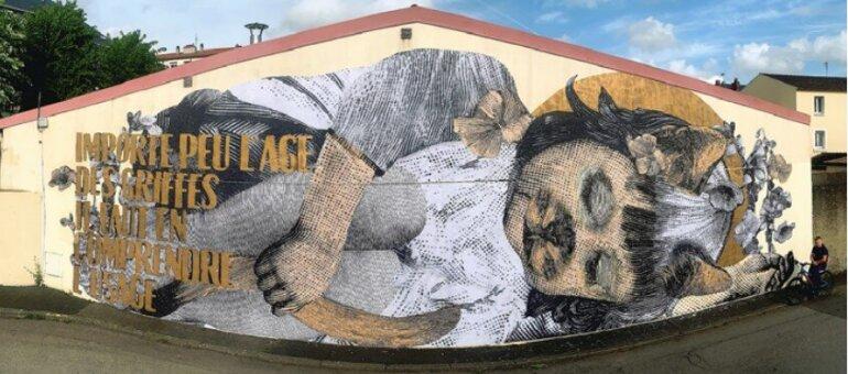 Festival de street art à Lyon : attention, peinture fraîche !