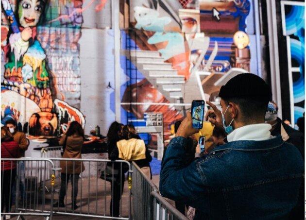 Une photo du festival Peinture fraîche par Kian Yenny