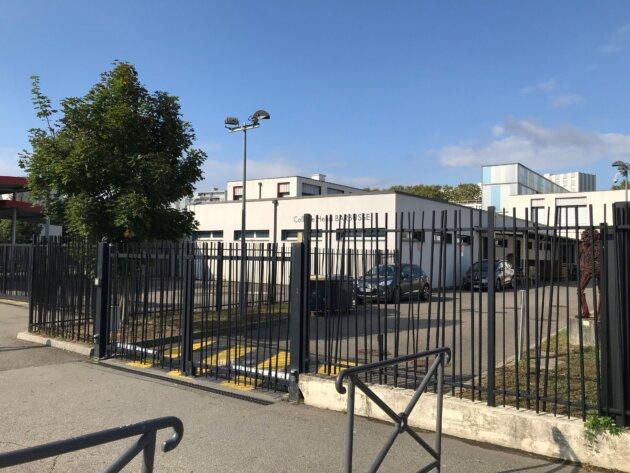 Le collège Henri Barbusse, à Vaulx-en-Velin, dans la métropole de Lyon, à la rentrée de septembre 2021