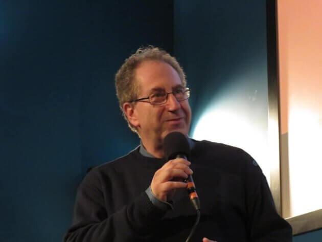 Jacques Gerstenkorn, lors du festival de cinéma Doc en courts. Photo : capture d'écran page Facebook du festival.