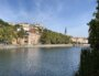 La Saône prise côté Lyon 2è. Une photo de Cyrille Vallet.