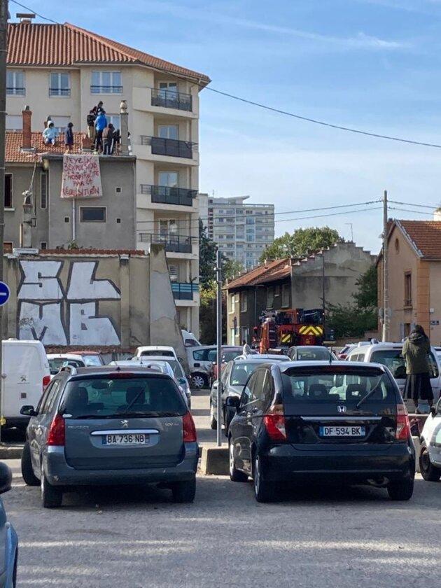 squat Villeurbanne métropole de Lyon Feyzin logement